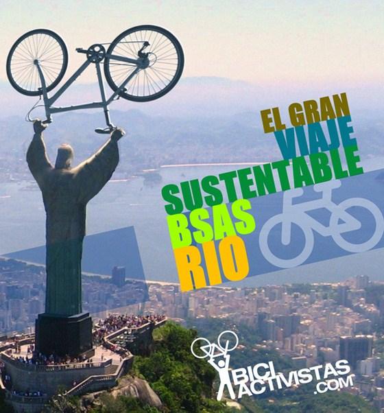 El Gran Viaje BA-Rio en Bici!- Ideame